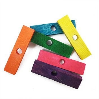 Colored 2 Inch Small Slats