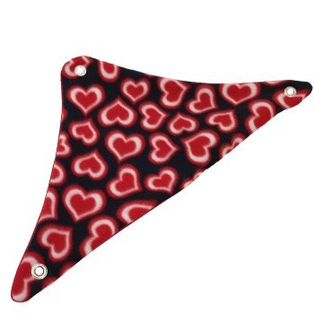 Radiant Hearts Fleece Corner Hammock