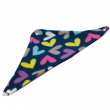 Butterfly Hearts Fleece Corner Hammock