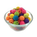 Medium Beehive Beads in Assorted Colors