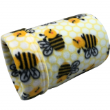 Busy Bees Fleece Tube