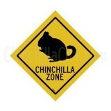 """Chinchillas Zone"" Magnet"