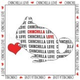 """Chinchilla Love"" Magnet"