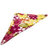 Colorful Blooms Fleece Corner Hammock