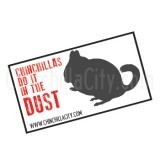 """Chinchillas Do It In The Dust"" Magnet"