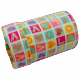 Squared Love Fleece Tube