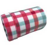 Mint Stripe Fleece Tube