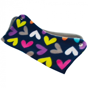 Butterfly Hearts Fleece Hammock