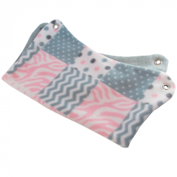 Quilted Pink Fleece Hammock